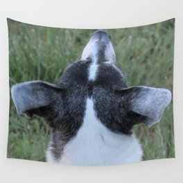 An Old Wise Dog Nose Wall Tapestry