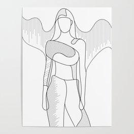 Modern Angel Poster