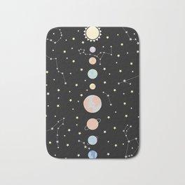 For You - Solar System Illustration Bath Mat