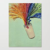 milk Canvas Prints featuring Milk by fotos de almanaque