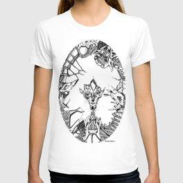 Surrealistic circle T-shirt