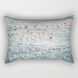 The Gangs All Here Seascape Rectangular Pillow
