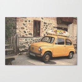 galleta Canvas Print