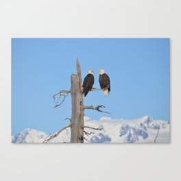 Perched With A View Duo Canvas Print