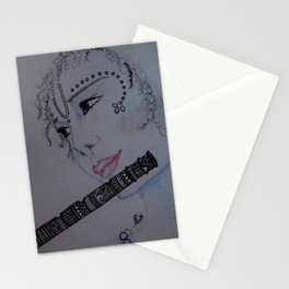 Lord Krishna / Bal Gopal / Artist Amiee Stationery Cards