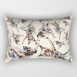Ballet Cat Dog Rectangular Pillow