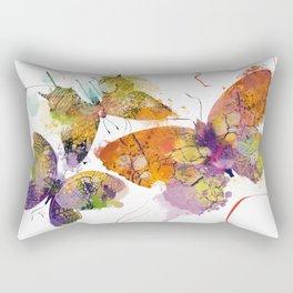 3 farfalle Rectangular Pillow
