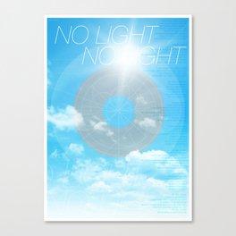 No Light No Light Canvas Print