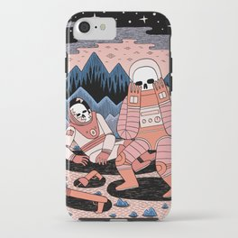 Death in Space II iPhone Case