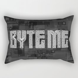 Byte Me Rectangular Pillow