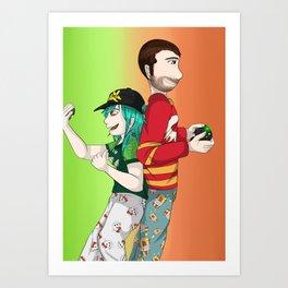 Baylee Jae and Christian  Art Print
