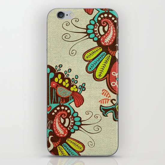 Harmony birds iPhone & iPod Skin