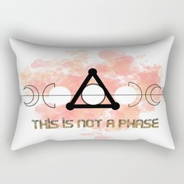 This is Not a Phase Rectangular Pillow