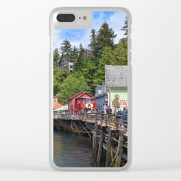 Creek Street Ketchikan, Alaska Clear iPhone Case