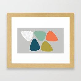 MCM Lozenge Framed Art Print