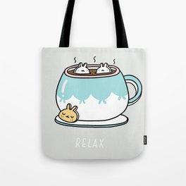 Marshmalunny Cocoa Tote Bag