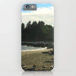 Driftwood on La Push Beach iPhone Case
