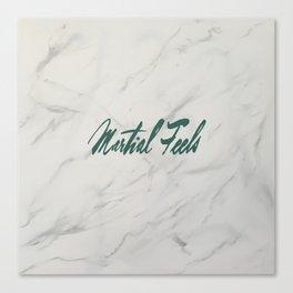 Martial Feels Canvas Print