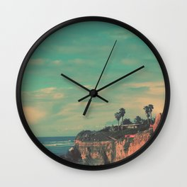 Cliff Side Wall Clock