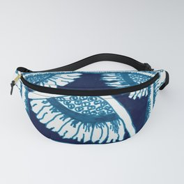 A Moment of Blue Fanny Pack