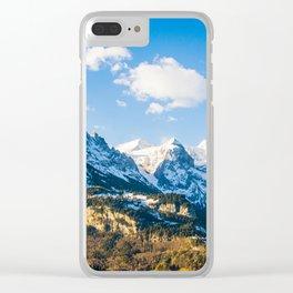 Switzerland Wonder Clear iPhone Case