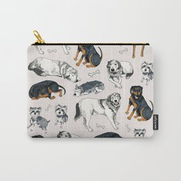 Sweetie, Lumi, and Saunders Carry-All Pouch