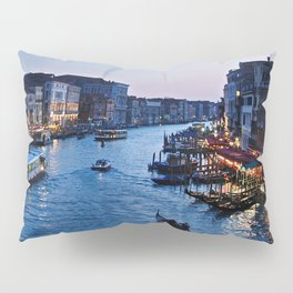 Venice at dusk - Il Gran Canale Pillow Sham