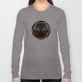 Trapped In Abstract Long Sleeve T-shirt