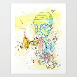 Jazzercise Art Print