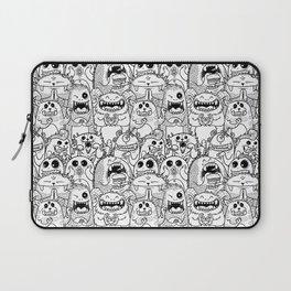 Monsters Pattern Laptop Sleeve