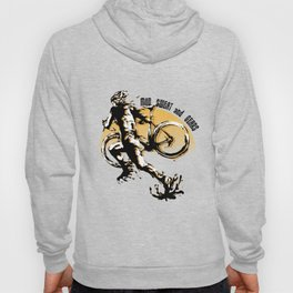 Mud Sweat and Gears Cyclocross Illustration Hoody