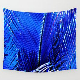 Sapphire Palm Wall Tapestry