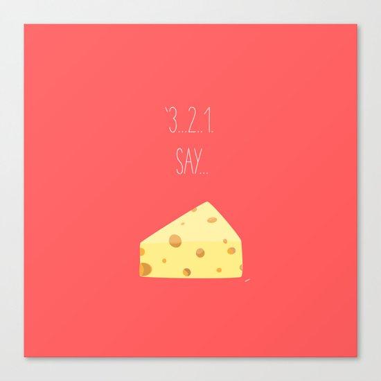'3...2..1 Say Cheese!' Canvas Print