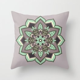 Elven Mandala Throw Pillow