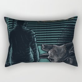 Massimo Volume - Fuoco fatuo   Rectangular Pillow