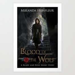 Blood of the Wolf Art Print
