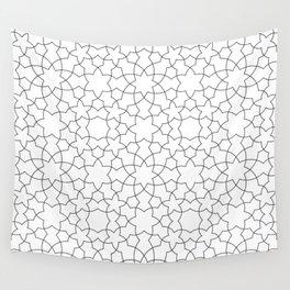 Minimalist Geometric 101 Wall Tapestry
