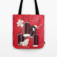lantern Tote Bags featuring Lantern by Anya Pany