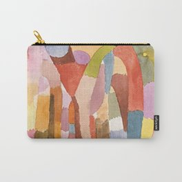 Movement Of Vaulted Chambers by Paul Klee 1915 Carry-All Pouch