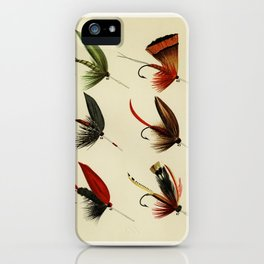 Lake Flies from Favorite Flies and Their Histories by Mary Orvis Marbury 5 iPhone Case