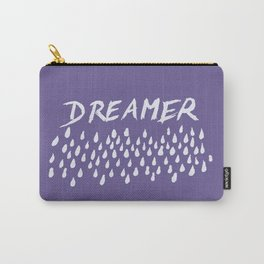 Ultra Violet DREAMER #1 #typo #drawing #decor #art #society6 Carry-All Pouch