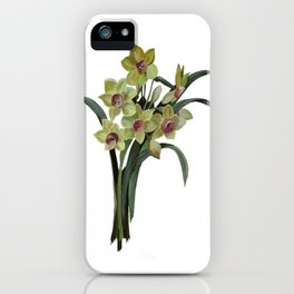 Lent Lily Isolated iPhone Case