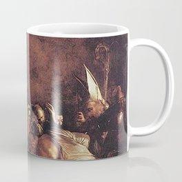 Burial of St. Lucy - Caravaggio Coffee Mug
