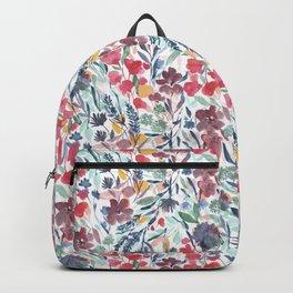 Upside Floral Deep Backpack