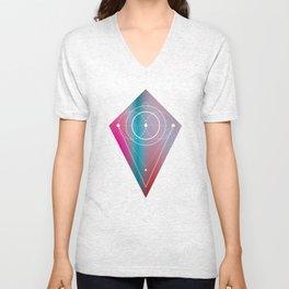 Pastel Geometry Unisex V-Neck