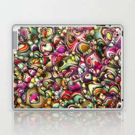 Colorful Abstract 3D Shapes Laptop & iPad Skin