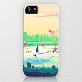 PHAZED PixelArt 5 iPhone Case