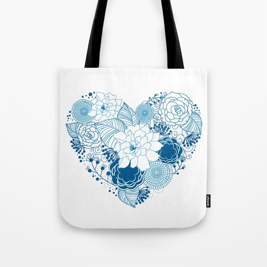 Color my heart Tote Bag