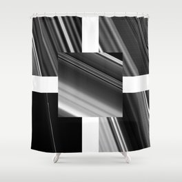 Saturn Rings (all) Shower Curtain