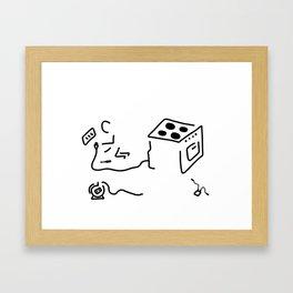 electrician Framed Art Print